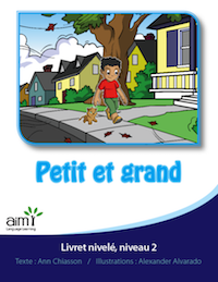 Petit et grand *New - Reader (minimum of 6)