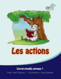 Les actions - Reader (minimum of 6)