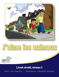 J'aime les animaux - Readers (minimum of 6)