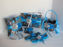 Load image into Gallery viewer, Blue Camo Flower Girl Basket