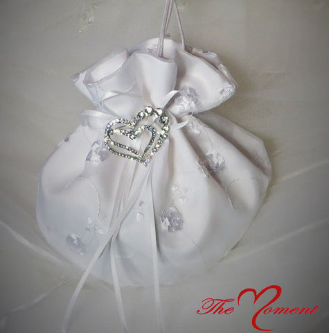 Wedding Purse, Bridal Bag, Wedding Money Bag