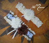 Camo Garter, Camo Wedding Garter Set, Customize Garter Set, Ducks unlimited Garter