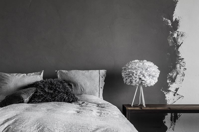 vita eos fjerlampe i light grey kan k bes billigt her. Black Bedroom Furniture Sets. Home Design Ideas