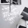 DIY loft lampe glaskugler, House Doctor