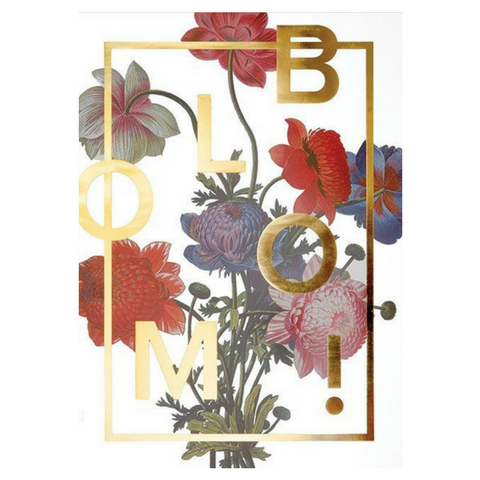 Image of   BLOOM! Gold - I Love My Type