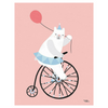 MICHELLE CARLSLUND - CYCLING BEAR PINK