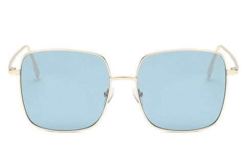 Blue Square Sunglasses - Kara and Kate