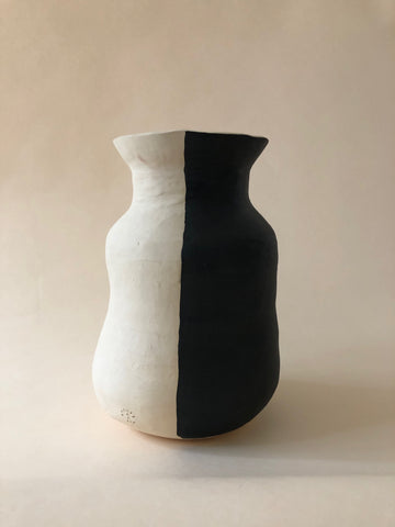 Black + White Vessel