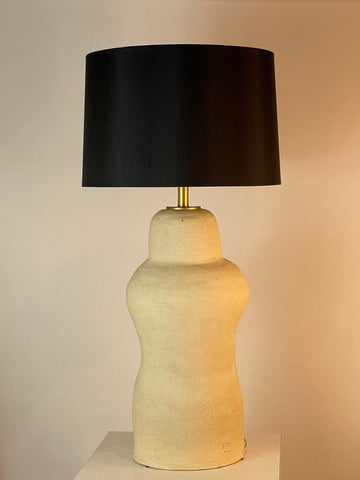 Extra Large Sculptured Lamp