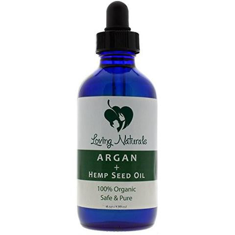 100% Organic Argan + Hempseed Oil (2 oz)