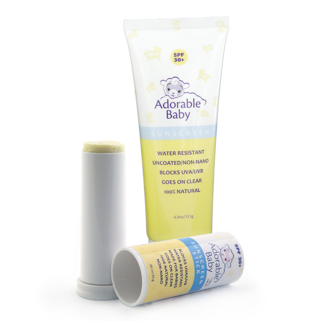 Adorable Baby Sunscreen with Adorable Baby Sunscreen Stick