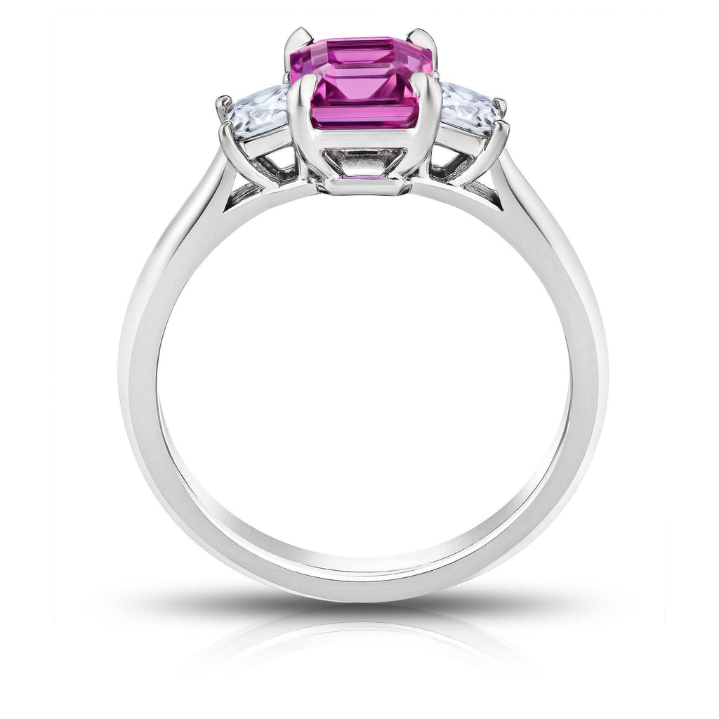 1.60 Carat Pink Sapphire Ring - David Gross Group