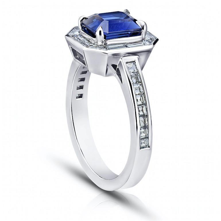 2.55 Carat Blue Sapphire Ring - David Gross Group
