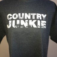 Country Junkie Charcoal T-Shirt