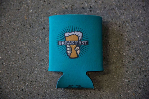 Green Breakfast Beer Koozie