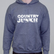 Country Junkie Charcoal Hoodie