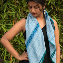 Fish stripes Ikat scarf