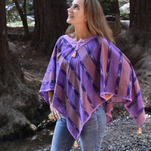 Buti Stripes Poncho