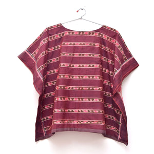 Lata stripes poncho