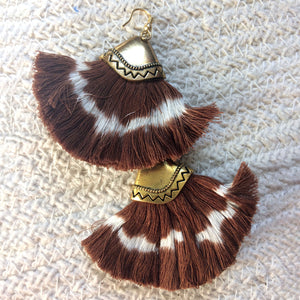 Jemima Brown Ikat Earrings