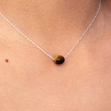 Tiger Eye Intention Necklace - Empowered