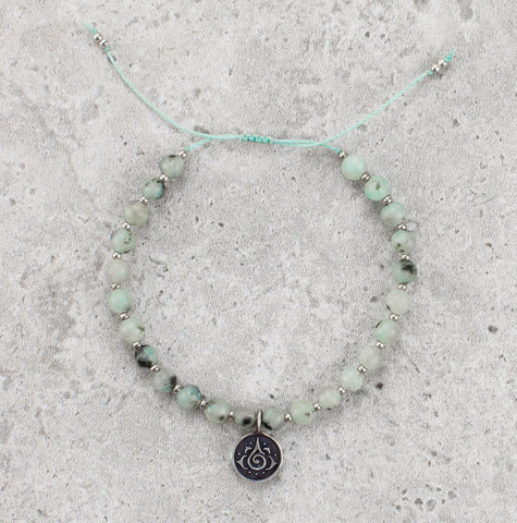 Amazonite Mala Bracelet - Inner Strength
