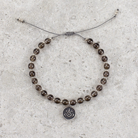 Smoky Quartz Bracelet - Let Go