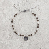Smoky Quartz & Moonstone Bracelet - Limited Edition