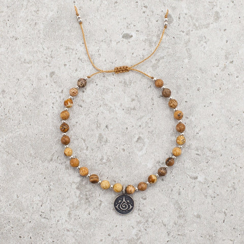 Picture Jasper Bracelet - Grounded & Creative
