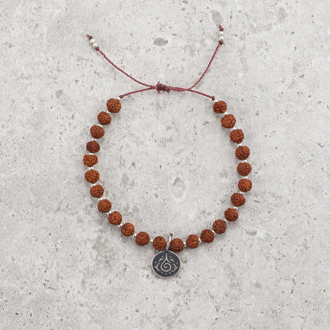 Rudraksha Meditation Bracelet - Quiet Mind