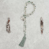 Tree Agate Mala (Petite) - Balanced & Connected