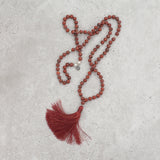 Red Jasper Mala - Stable & Balanced