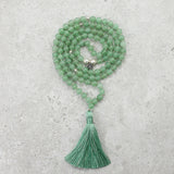Aventurine Mala - Inspired & Optimistic