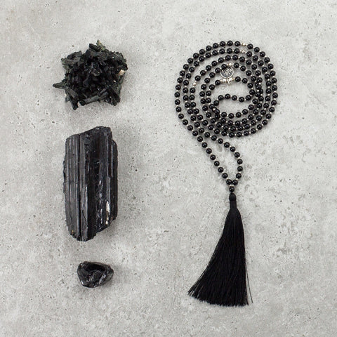 Onyx Mala (Delicate) - Strong & Focused