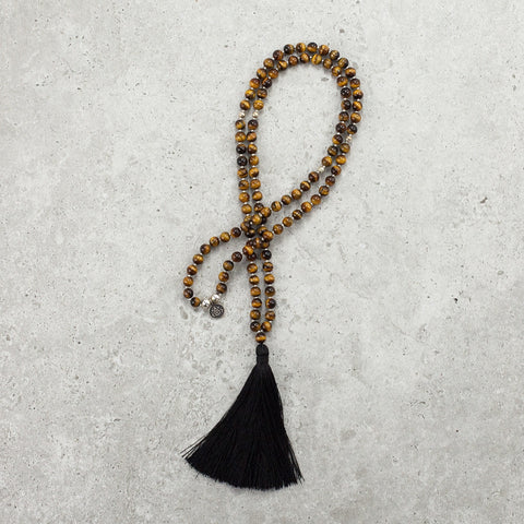 Tigers Eye Mala - Petite (6MM) - Empowered