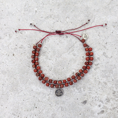 Red Jasper Bracelet - Stable & Balanced