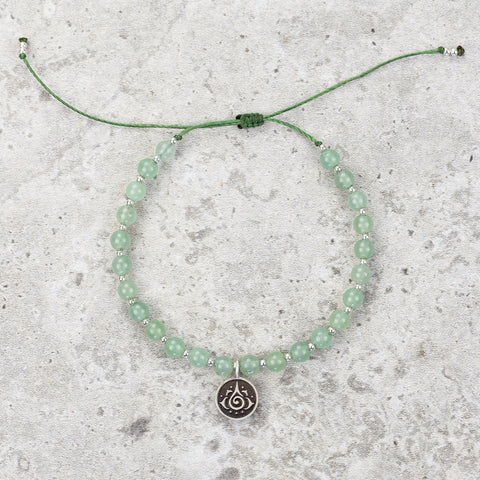 Green Aventurine Meditation Bracelet - Inspired & Optimistic