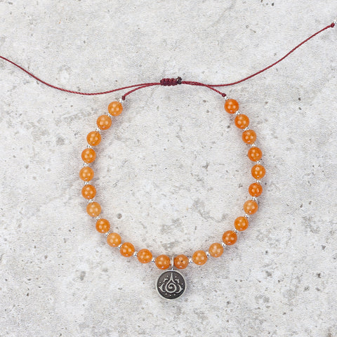 Red Aventurine Meditation Bracelet - Inspired & Optimistic