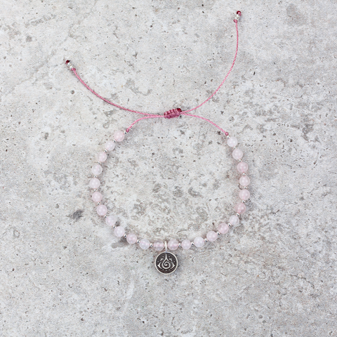 Rose Quartz Mala Bracelet - Love