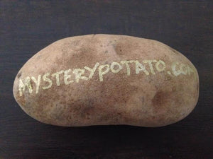 What's the difference between a Mystery Potato and a couch potato?