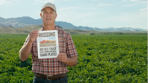 Idaho Potato Truck Goes Missing
