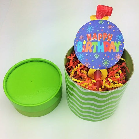 Birthday Fun Box, Green