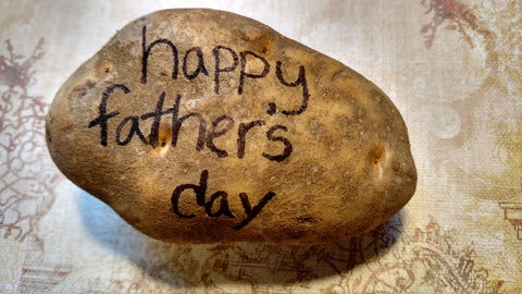 Fathers Day Potato Gift Box