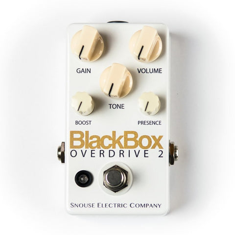 BlackBox Overdrive 2 - 2018 Limited Edition Arctic Black