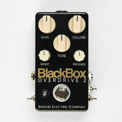 BlackBox Overdrive 2 with External Switch Mod - $159