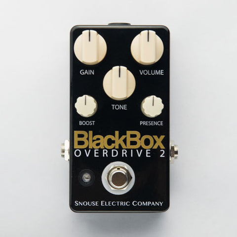 BlackBox Overdrive 2 - Piano Black