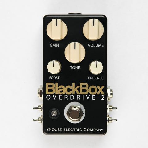 NEW! BlackBox Overdrive 2 Stage Pro Mod - $169