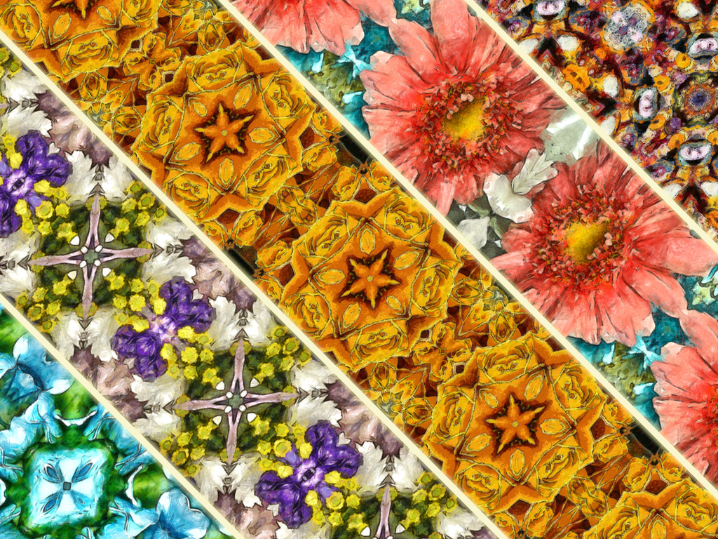 Beautiful Kaleidoscope Scarves!