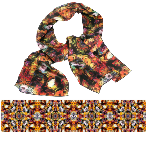 "S1004 ""Southwestern Treasures"" Scarf"