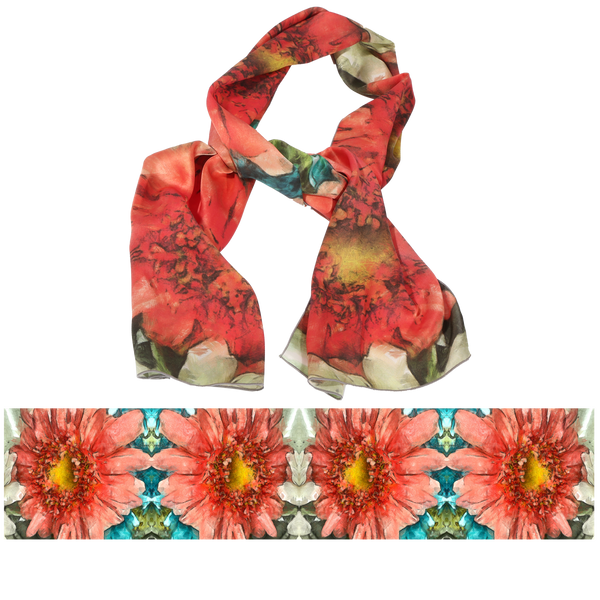 "S1005 ""Dancing Daisy"" Scarf"